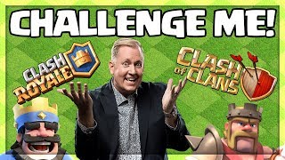 Clash With Galadon! Clash of Clans Troll Base Action TONIGHT!