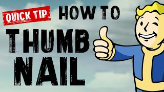 Quick Tip 04: How To Make Better GTA V Thumbnails [TUTORIAL]