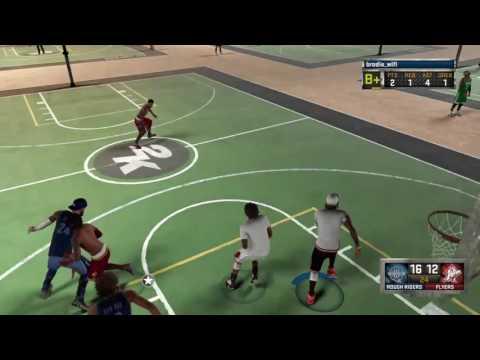 NBA 2K16_gameplay Brodie Wifi Rivet City games._visit to old town