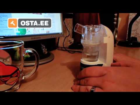 How to Use a Ultrasonic Portable Nebulizer MY-520A