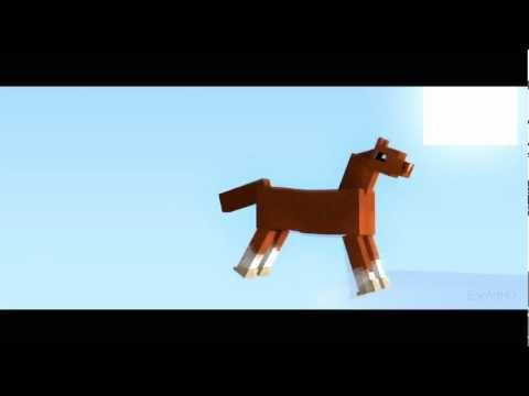 Magical Pony Minecraft Animation
