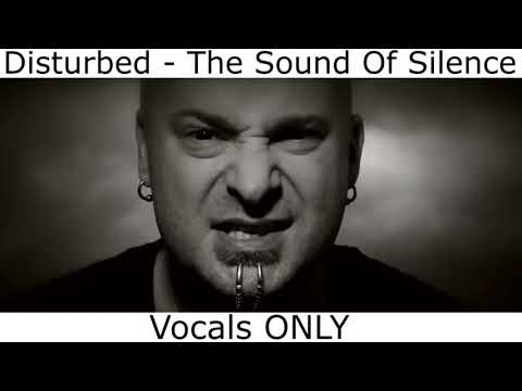 Disturbed the sound of silence vocals only  music