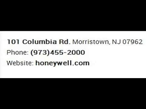 Honeywell International Inc Corporate Office Contact Information