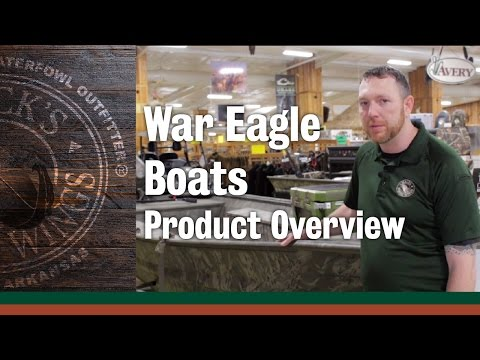 War Eagle Boats - Product Overview