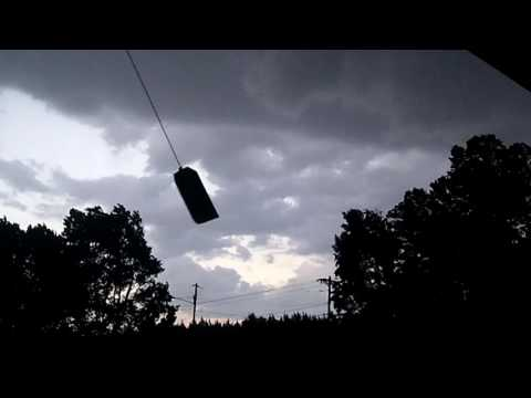 Severe Thunderstorm - 7-8-16 - Porch Footage