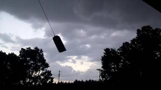 Severe Thunderstorm  7816  Porch Footage