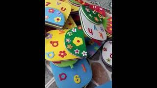 Mẫu đồ chơi do nhà làm (Preschool toys)