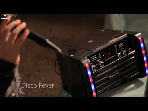 auna Disco Fever Karaoke-Anlage für Musikstars von morgen