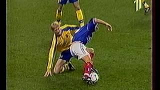 ЧЄ-2000 | Франція-Україна | Груповий раунд | 1 тайм
