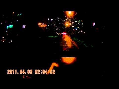 НОВИНКА 2011! Автомобильный видерегистратор Fix H190NV ночь 2