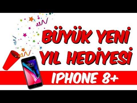 Büyük Yeni Yıl Hediyesi - iPhone 8 Plus