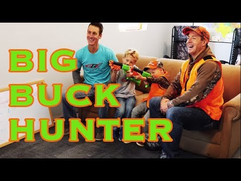 🦌 Big Buck Hunter Video Game Battle 🔫 | Gould Brothers & Kids