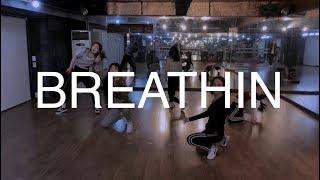 Ariana Grande - BREATHIN | NAYEON choreography