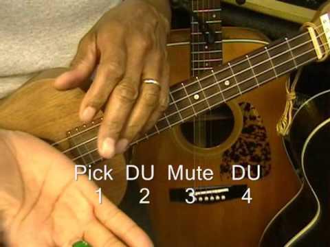 How To Play Hawaiian Over The Rainbow IZ Reggae Style Ukulele Strumming Pattern