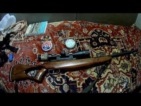 видео: Пневматическая винтовка Бенжамин NP8. (1 серия)