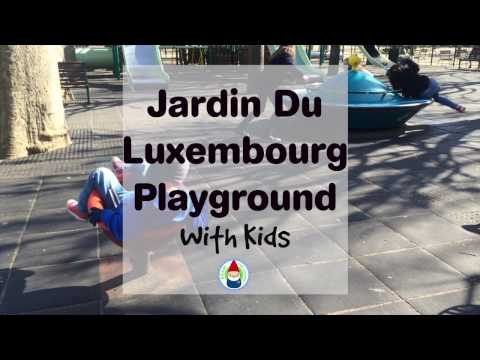 Jardin du Luxembourg Playground Paris Playground with Roam the Gnome and Friends