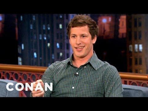 Andy Samberg's Strangest SNL Memory  CONAN on TBS