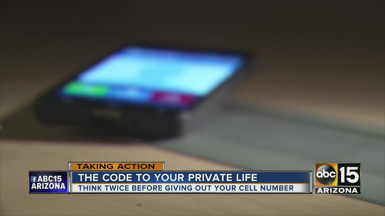 Cell phone number just as important as social security number?