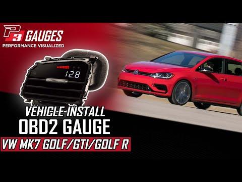 P3Cars VIDI for Volkswagen Golf mk7 GTI, R , GTD video install guide