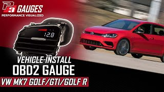 P3Cars VIDI for Volkswagen Golf mk7 GTI, R , GTD video install guide