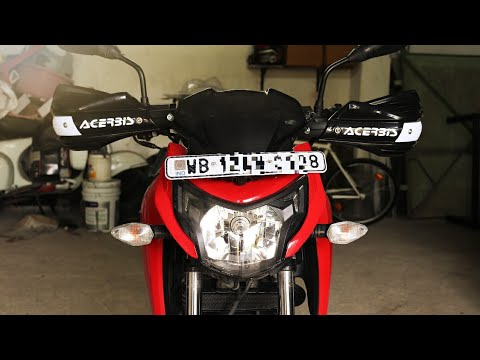 New Hand Guard for My TVS Apache 160 4v