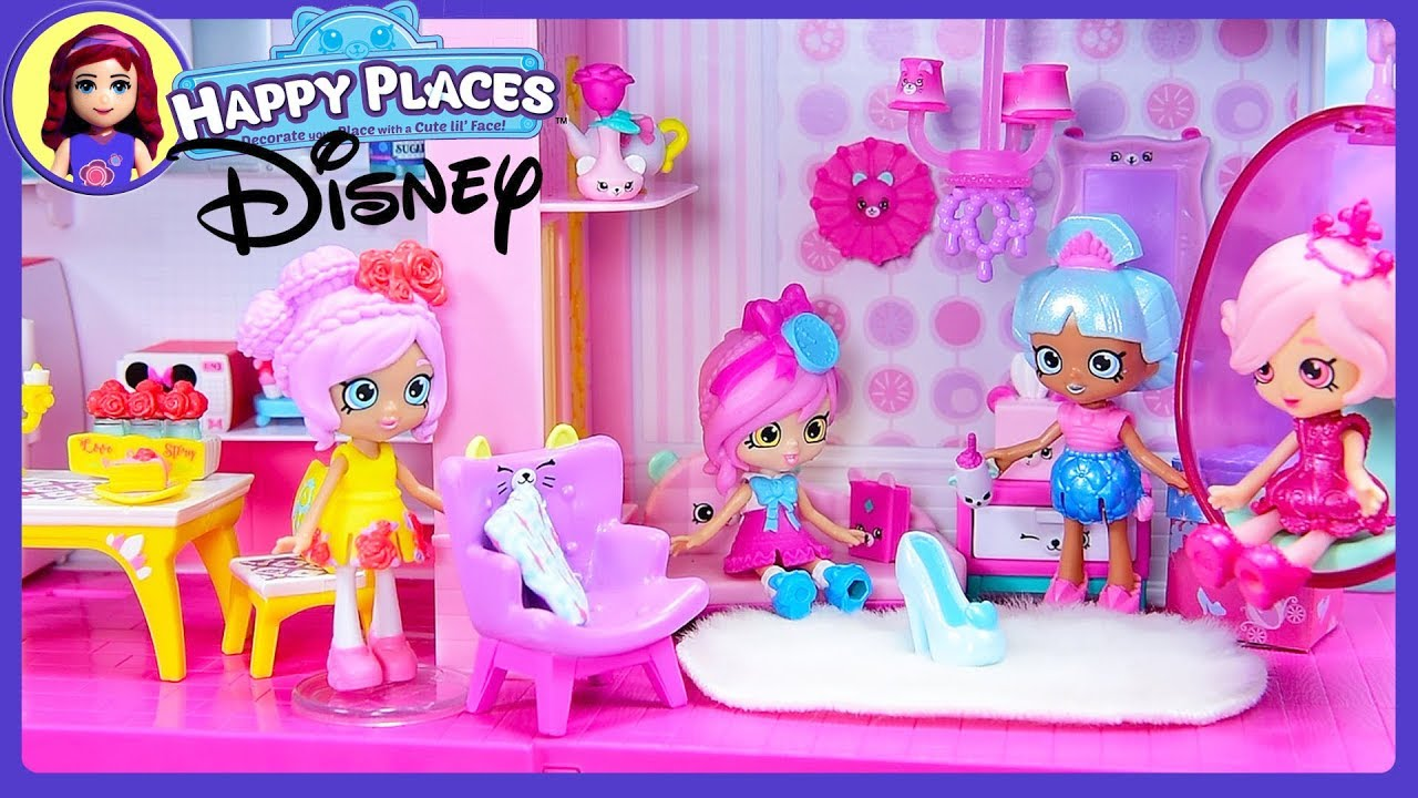 Happy Places Grand Mansion Dream House Set up with Disney ...