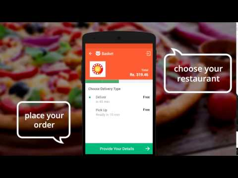How to order food in foodpanda