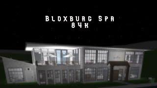 Spa Speed Build + Tour - Roblox Bloxburg
