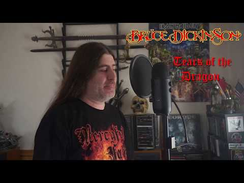 """Bruce Dickinson """" Tears of the Dragon """" ( vocal cover )"""