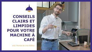 Vous avez une machine à café automatique ? Rincez-la avant de vous préparer un café