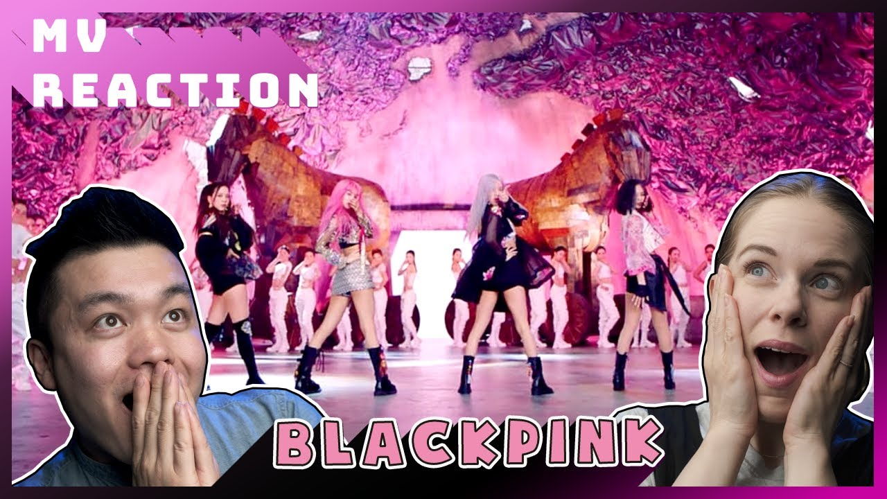 MV Reaction How You Like That || Lần đầu couple Mỹ xem MV của BLACKPINK quá ĐẸP !!!