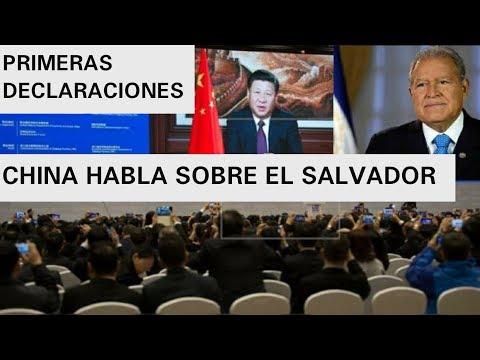 GOBIERNO DE CHINA DA PRIMERAS DECLARACIONES TRAS RUPTURA DE TAIWAN Y EL SALVADOR