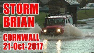 Cornish Storm Brian 2017 - Looe, Millendreath and Seaton