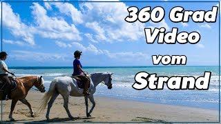 360 Grad Video vom Strand mit Rubi u Escada