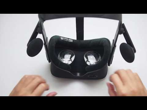 How to install the Oculus Rift Foam Replacement Velour