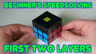 Beginner S Speedsolving F2L Tutorial