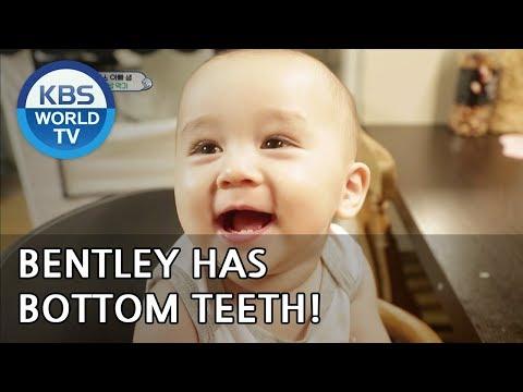 Oh my! Bentley has bottom teeth!!  [The Return of Superman/2018.09.23]