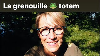 LA GRENOUILLE ANIMAL TOTEM DU JOUR