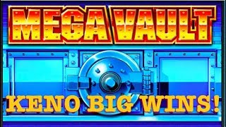 I didn't have the guts to do the $12 max bet on Mega Vault, but for...