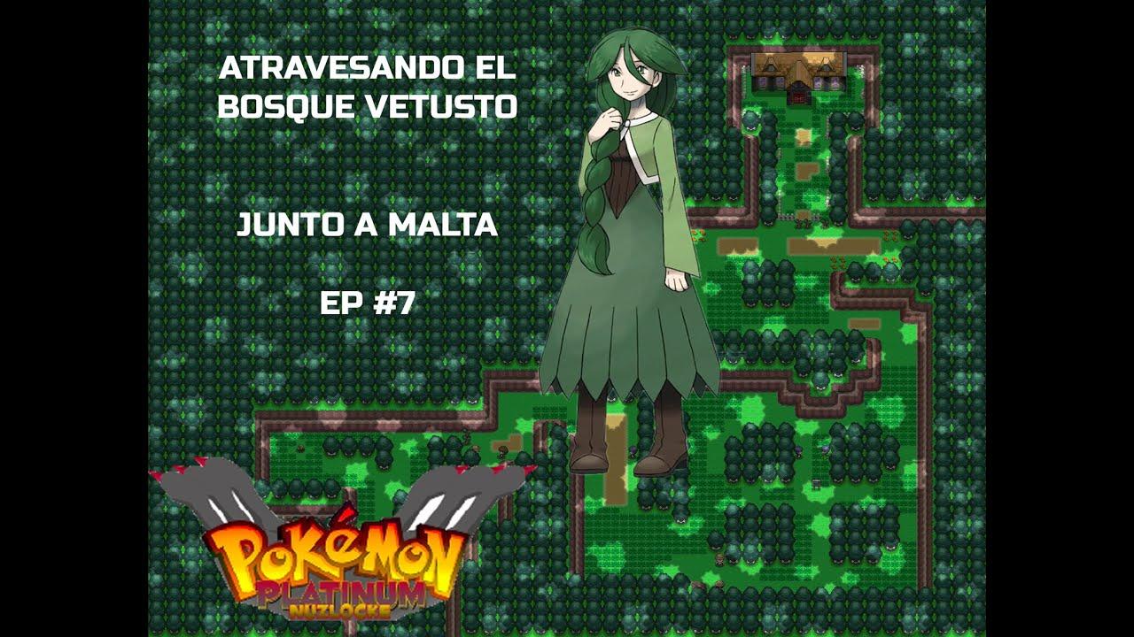 Pokemon Platino Nuz Ep 7 Bosque Vetusto Youtube