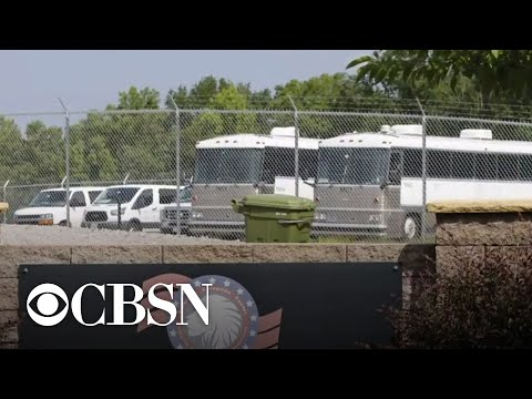 Outbreak at Virginia detention facility linked to ICE flights