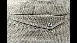 How to sew welt pocket  in any shape