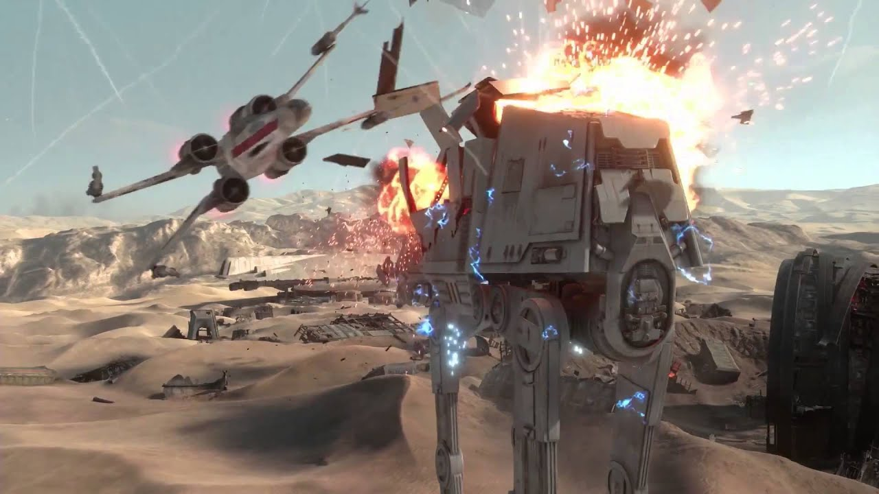 star wars battlefront battle of jakku gameplay trailer - youtube