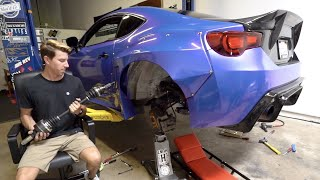500HP Rated Axles for my Subaru BRZ