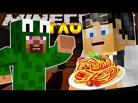 Minecraft Restaurant Serving Angry Customers