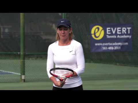 Two-handed Backhand by Chris Evert