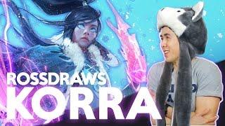 RossDraws: KORRA!! (Avatar)