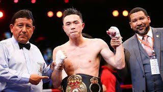 Chinese boxing star Xu Can defeats Jesus Rojas to win WBA featherweight title