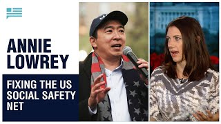 Annie Lowrey on America's punitive safety net, and how we can fix it. | Andrew Yang | Yang Speaks