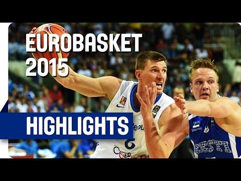 Czech Republic v Estonia - Group D - Game Highlights - EuroBasket 2015